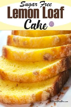 This is the recipe for Sugar Free Lemon Loaf Cake. Imagine a great tasting sugar free cake that is coated with a sugar free glaze. Diabetic Desserts, Low Carb Desserts, Diabetic Recipes, Low Carb Recipes, Dessert Recipes, Cooking Recipes, Flour Recipes, Desserts For Diabetics, Splenda Recipes