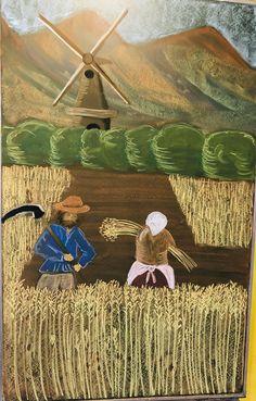#Waldorf #waldorfschule #ackerbau #3rdgrade #dritteklasse #waldorfschool #tafelbild #ackerbauepoche 3rd Grade Art, Grade 3, Third Grade, Chalkboard Drawings, Chalk Drawings, Steiner Waldorf, 3 Arts, Farming, Homeschool