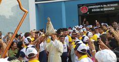 Devotos homenageiam Nossa Senhora de Nazaré em Paragominas