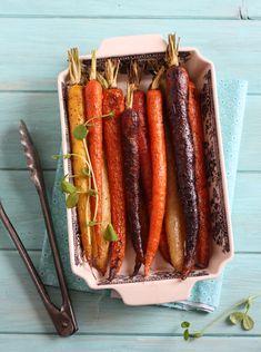 The Spunky Coconut: Roasted Rainbow Carrots