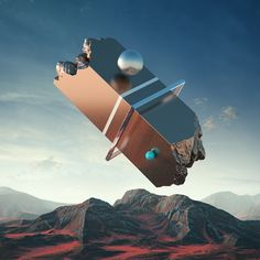 Surreal Otherworldly Graphic Illustrations by Filip Hodas Prague-based graphic designer and DJ Filip Hodas creates stunning and surreal graphic illustrations which incorporate abstract and contrasting. 3d Cinema, New Retro Wave, Graphisches Design, Graphic Design, 3d Studio, 3d Artwork, Futuristic Architecture, Conceptual Architecture, Fantasy Landscape