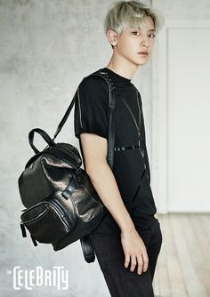 EXO: Chan Yeol - The Celebrity Magazine July Issue '15