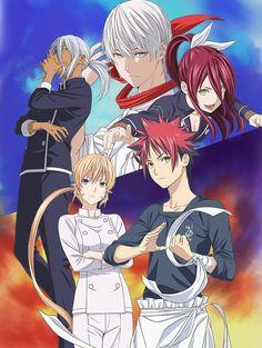 Shokugeki no Souma: San no Sara - Toutsuki Ressha-hen sub español Online en HD, Ver este anime de Shokugeki no Souma: San no Sara - Toutsuki Ressha-hen sub español con excelente calidad en Otaquz