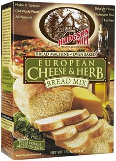 Hodgson Mill European Cheese  Herb Bread Mix  16 oz >>> You can find more details by visiting the image link.(This is an Amazon affiliate link and I receive a commission for the sales)