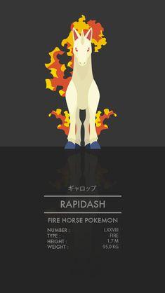 Rapidash by WEAPONIX on DeviantArt