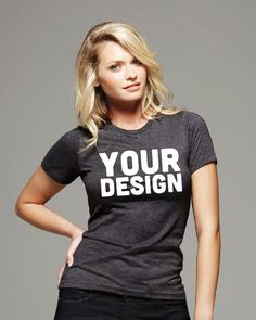 7e46eb61d51 Custom Women s Tee - Pacific Vinyl. custom women s shirt
