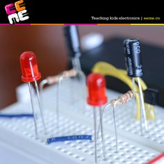 Homeschool with our FREE online lessons about circuits and electronics. http://www.eeme.co/homeschooling-with-eeme?src=pn__2015_03_11