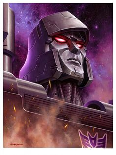 Jason Edmiston - Transformers Megatron