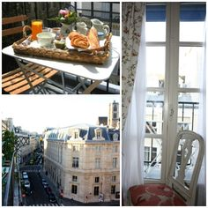 """On the Terrace"" Paris in the morning..."