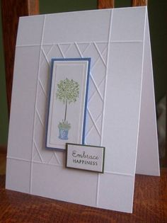 CAS05 - Greens and Blues by LynniePoo - Cards and Paper Crafts at Splitcoaststampers