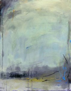 "Today's weather in Southeastern MA is just like my abstract painting ""His Moody Ways"""