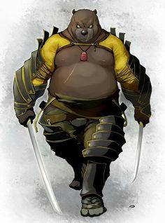 Oso Samurai
