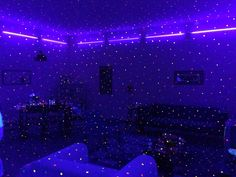 Purple Glow Room Love In 2019 Aesthetic Room Decor Neon room blue Purple Glow Room Love In 2019 Aesthetic Room Decor Neon Neon Room Decor, Neon Bedroom, Small Room Decor, Diy Room Decor, Bedroom Decor, Bedroom Ideas, Rainbow Aesthetic, Aesthetic Room Decor, Purple Aesthetic
