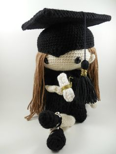 Patricia - Amigurumi Doll Crochet Pattern PDF