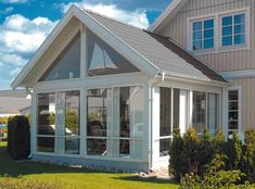 inglasning-Sommar - Ryds Glas House Extension Design, Extension Designs, House Design, Sunroom Addition, Porch And Balcony, Decks And Porches, Laundry Room Design, Outdoor Living, Outdoor Decor