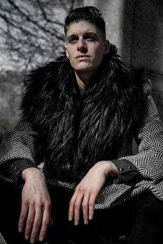 Meet Carlos Rodriguez, a Photographer with a Purpose (and model Rain Dove) - Androgynous Models, Androgynous Fashion, Role Models, Female Models, Werewolf Girl, Stylish Winter Coats, Character Inspiration, Style Inspiration, Character Design