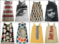 1960s Paper Dresses. I wore a paper dress to see the Monkees in concert in 1967. The opening act was Jimmy Hendrix.