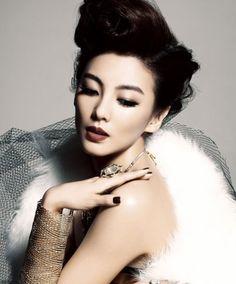 Zhang Yu Qi – Harper's Bazaar Magazine Jewelry Editorial, Beauty Editorial, African American Makeup, Asian Wedding Dress, Homemade Deodorant, Asian Makeup, Korean Makeup, Harpers Bazaar, Bridal Make Up