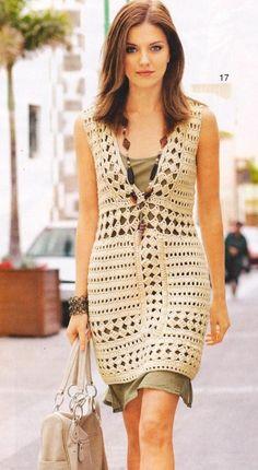 Brasil Tricô e Crochê - Handmade encomendas: Vestido Huge