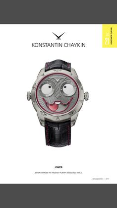 Joker Watch, Make You Smile, Chronograph, Watches, Luxury, Accessories, Rings, Wristwatches, Ring