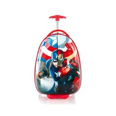 Heys Marvel Captain America Iron Man Luggage Wheeled Carry on Approved for sale online Kids Luggage, Travel Luggage, Luggage Brands, Luggage Sets, Marvel Captain America, Long Weekend, Travel Accessories, The Ordinary, Travel Style