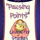 """A pausing point is a place in a text where you want your students to stop, think, reflect, and write. The pausing points in this resource can help you do that—and they are all fully aligned to the Common Core! These 14 """"Pausing Point"""" reflections come in two formats:  *Full page reproducibles that can be used for students to track their thinking, to prepare for book groups, or even for you to assess comprehension.    *""""Clippable"""" journal prompts that can be glued into response journals"""