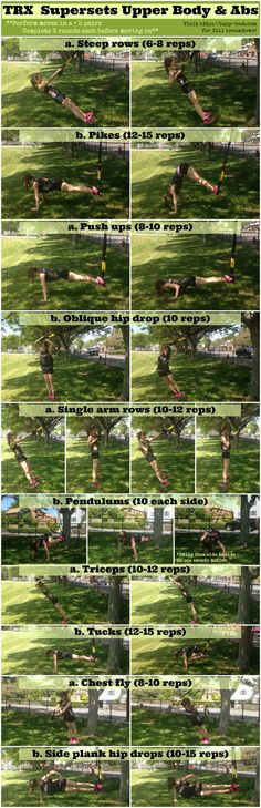 TRX superset workout for your abs, arms, and back - BusyBod