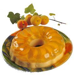 gelatina de durazno