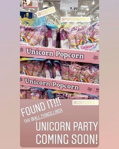"d229c14d3090 COSTCO DEALS on Instagram  ""🦄🍿Unicorn popcorn  popcornopolis found in San  Diego! only  9.49! Need this in the  pnw🌲! Anyone see this anywhere else"