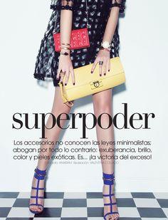 THE FASHION CODE : SUPERPODER : VOGUE MEXICO