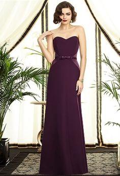 Not just a wedding dress idea, not just an elegant purple wedding dress for bridesmaids - It's an elegantly #PLUM experience