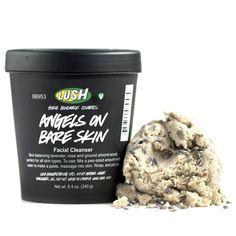 Angels on Bare Skin cleanser, my second favorite cleanser after Herbalism. Lush skin care products are amazing !
