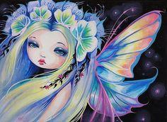 Art 'Wishing Star Fairy' - by Nico Niemi from fairies