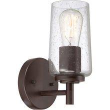 View the Quoizel EDS8601 Edison 1 Light Bathroom Sconce with Vintage Edison Bulb at LightingDirect.com.
