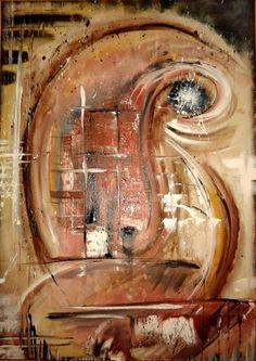 acrylic abstract female