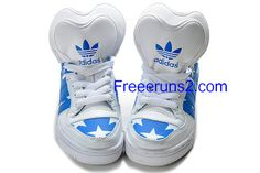Full Of Half Off Cheap Adidas Skate Shoes,Adidas Originals Metro Attitude Logo Heart Royal Blue White   #Blue #Womens #Sneakers