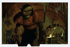Art Gallery d20 Modern Urban Arcana - Next Stop: Goblin Shadow-Place