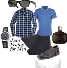 """Jean Friday for Men"" by thatperfectstyle on Polyvore"