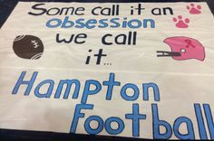My teams run through sign for this week. Worked really hard on it. Pretty proud! Football Spirit Signs, Football Banner, Football Cheer, School Football, Volleyball Players, Football Season, Cheer Coaches, Cheer Stunts, Cheer Jumps