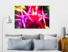 Discover «Flower explosion», Exclusive Edition Canvas Print by Nannie van der Wal - From 45€ - Curioos
