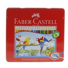 Buy Faber-Castell Water Color Pencil 115925 24's Online in UAE, Dubai, Qatar, Kuwait, Oman  for Best Price Shop on #Luluwebstore.com