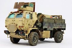 Not exactly an actual vehicle but a diorama model