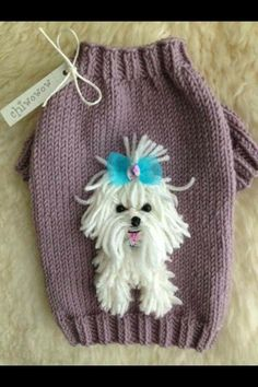Discover recipes, home ideas, style inspiration and other ideas to try. Crochet Dog Sweater, Dog Sweater Pattern, Crochet Baby, Free Crochet, Knit Crochet, Knitting For Kids, Baby Knitting Patterns, Hand Knitting, Crochet Patterns