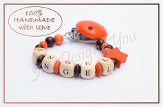 Für einen kleinen Engel mal in orange <3