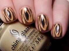 Disney Challenge Tarzan  #nail #nails #nailsart