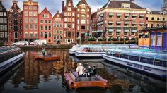 Amsterdam devrait lancer ses bateaux autonomes dès 2017