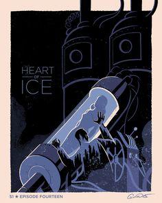 Batman The Animated Series Episode 14; Heart of Ice - George Caltsoudas