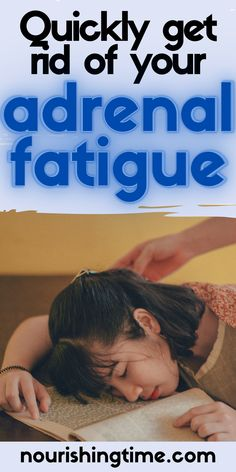 Tired of dealing with adrenal fatigue? That's where I was a few months ago. Now with this supplement you can quickly get rid of your adrenal fatigue symptoms! I'll also show you all the foods I use to heal my adrenals and keep the fatigue at bay. I know you feel tired all the time, but you can heal! #adrenalfatigue #tired #sleepy #nourishingtime #tiredmom