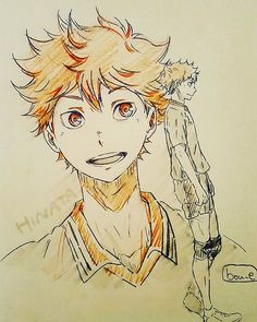 Let's spread Haikyuu to all over the world with us to get an anime stuff you want free. Hinata Shouyou, Kagehina, Volleyball Anime, Karasuno, Haikyuu Anime, Anime Art Girl, Art Sketches, Character Design, Cartoon