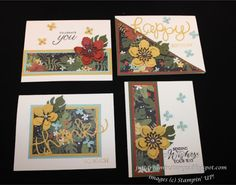 Just Dreamin' Stamps: Occasions and Sale-a-bration Sneak Peek Blog Hop. Stampin Up Botanical gardens suite.